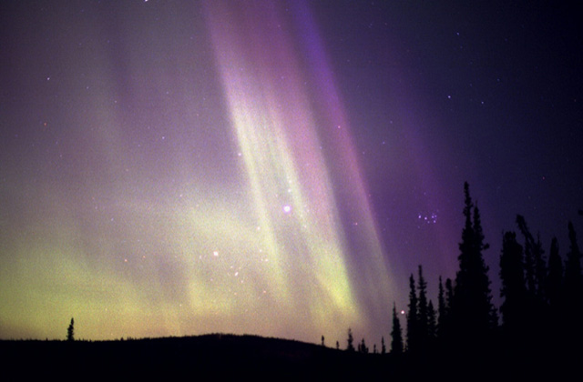 Fairbanks Northern Lights Gallery - Aurora and Planetary Alignment