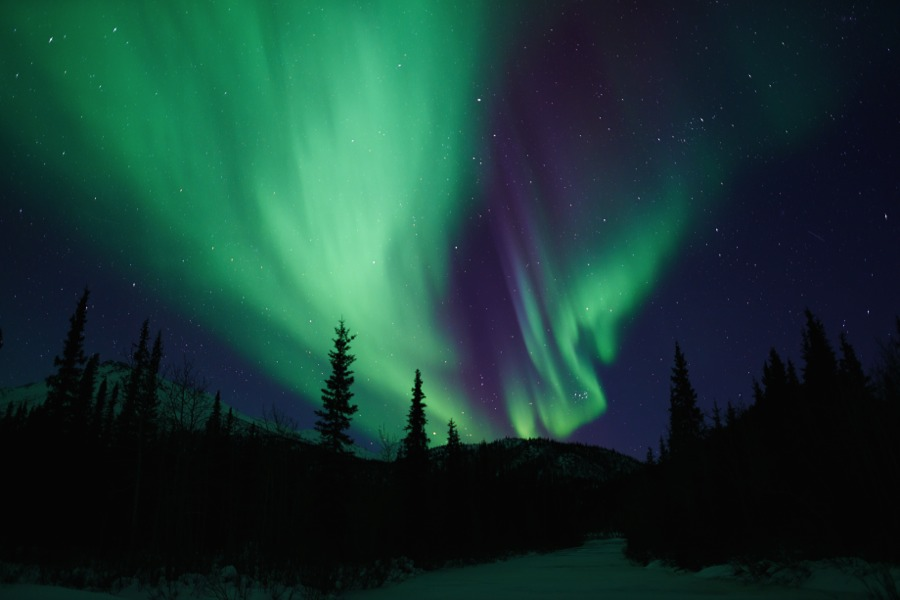 Northern Lights Wiseman Alaska 2015